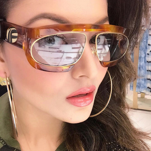 Oval Lenses Brand Designer Fashion Shades