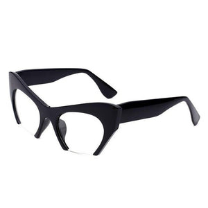 Luxury Brand Fashion Semi-Rimless Cat Eye Glasses With Box(Buy More, Get Extra Discount)