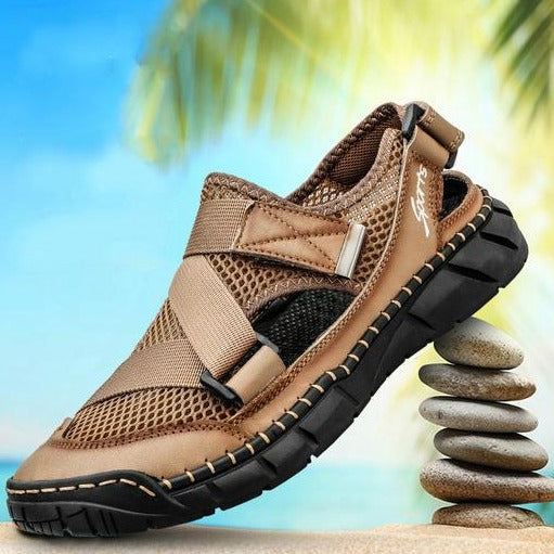2020 Men's Summer Big Size Mesh Roman Sandals