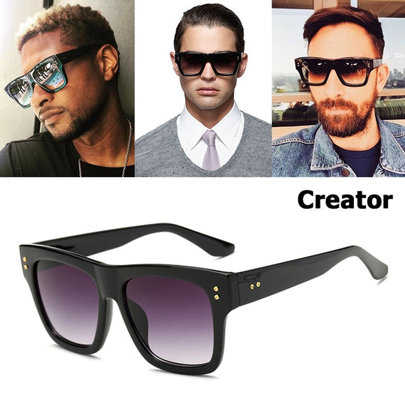 CREATOR Style Gradient Square Sunglasses