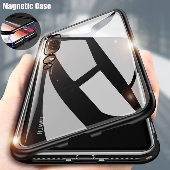 Luxury Magnetic Phone Case For Huawei P20 Pro P20 mate20 lite