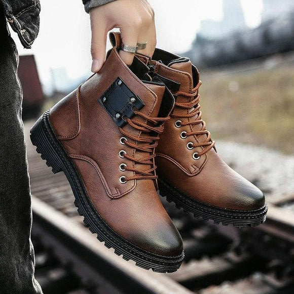 Shoes - 2018 Men's Classic Fashion Autumn Winter Style Boot