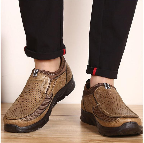 Spring Summer Casual Quality Leather Loafers For Men