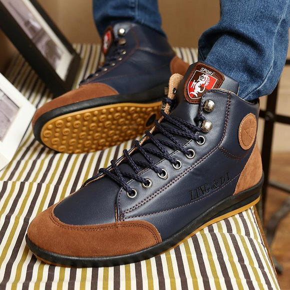 Shoes - 2018 Fashion Men's Leather Boots