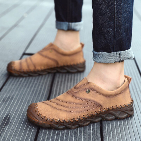Men's New Comfortable High Quality Leather Moccasins
