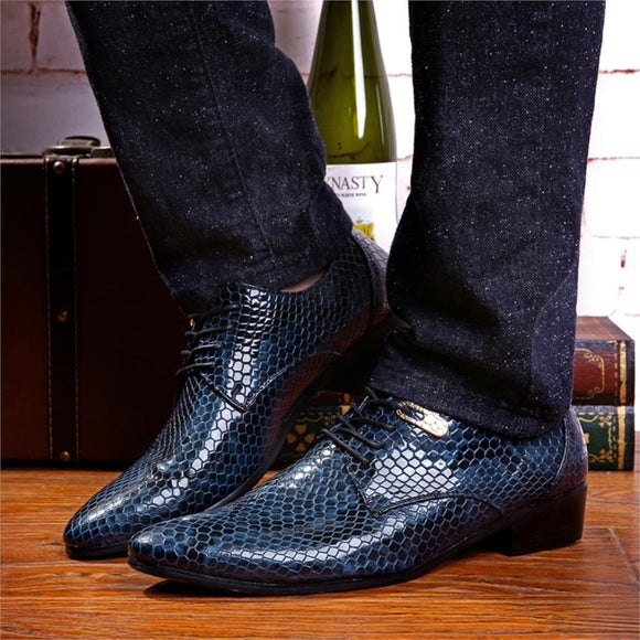 Casual Business Men's Pointed Shoes