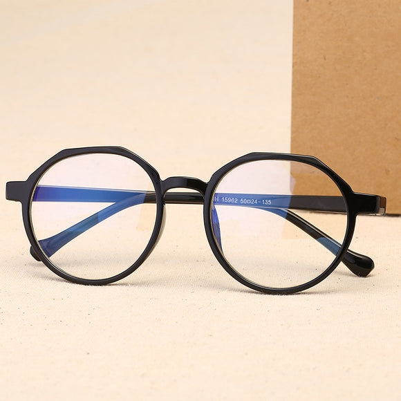 Retro Round Spectacle Transparent Eyeglasses