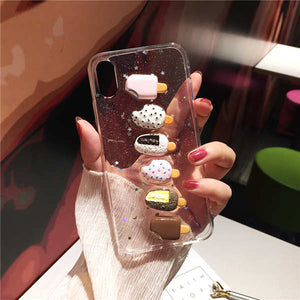 3D Summer Ice Cream Phone Case For iPhone(Extra Discount:Buy 2 Get 10% OFF, 3 Get 15% OFF )