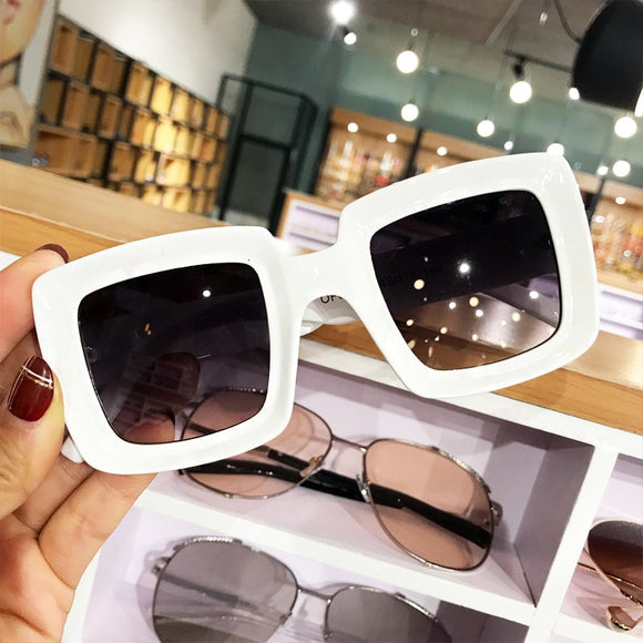 Fashion Brand Designer Retro Mirror Eyeglasses
