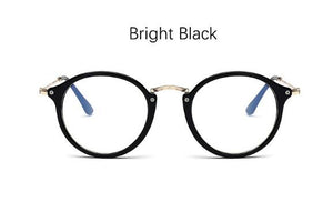 Myopia Optical Glasses Frame Luxury Clear Lens