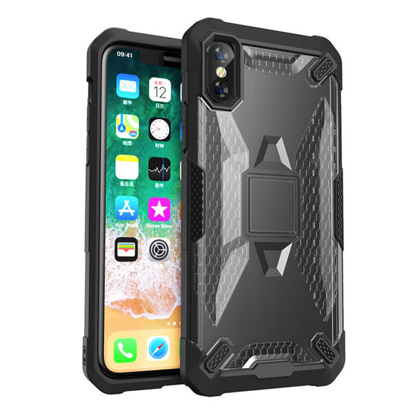 Bumper Hard Anti Slip Armor Shell Case For iPhone XR XS MAX X 6 6S 7 8 Plus