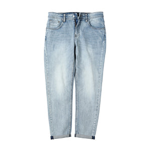 Spring Summer Casual Streetwear Denim Trousers