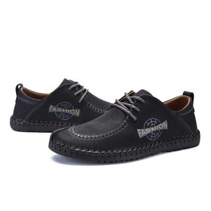 Plus size Men Leather Comfort Casual Shoes
