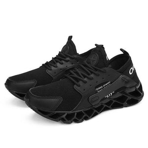Plus Size Men Breathable Top Quality Shock Absorb Shoes (Extra Discount:Buy 2 Get 10% OFF, 3 Get 15% OFF )