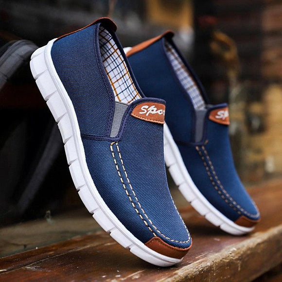 Men Light Breathable Denim Comfortable Sneakers