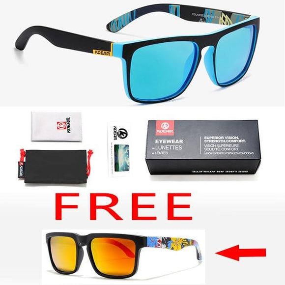 Vipupon Square Polarized Driving Night-Vision 100% UV400 Sunglasses(Buy One Get One Free)