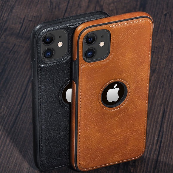 Vipupon Retro Leather Case For iPhone (Europe)