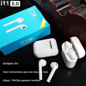 Vipupon Wireless 3D Stereo Earbuds for Samsung iPhone Smart Phone