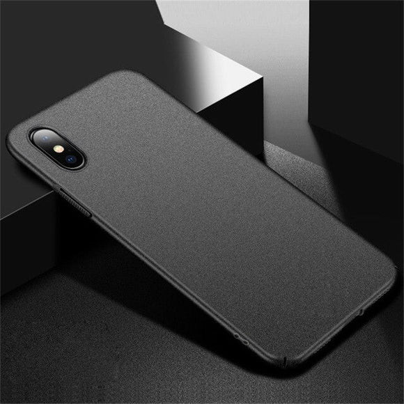Ultra Slim Matte Hard PC Case For iPhone