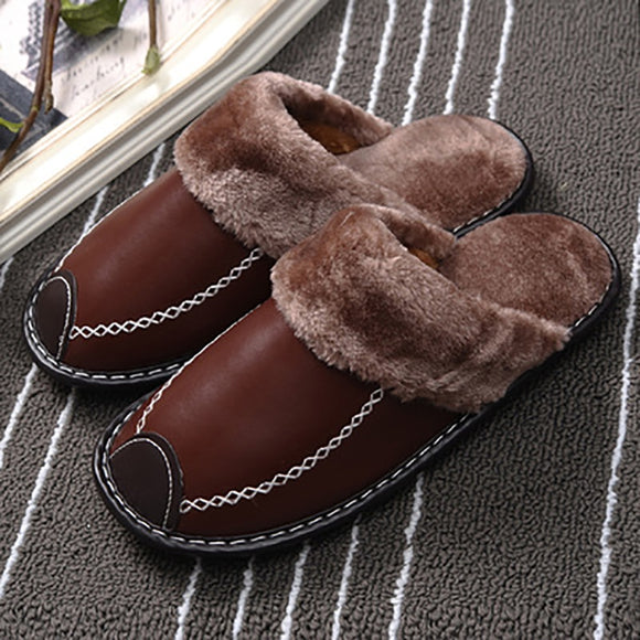 Flash Sale Winter Couple Warm Slippers