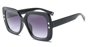 Square Rivet Fashion Shades