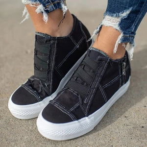 2020 Women's New Fashion Breathable Soft Flats Casual Canvas Shoes