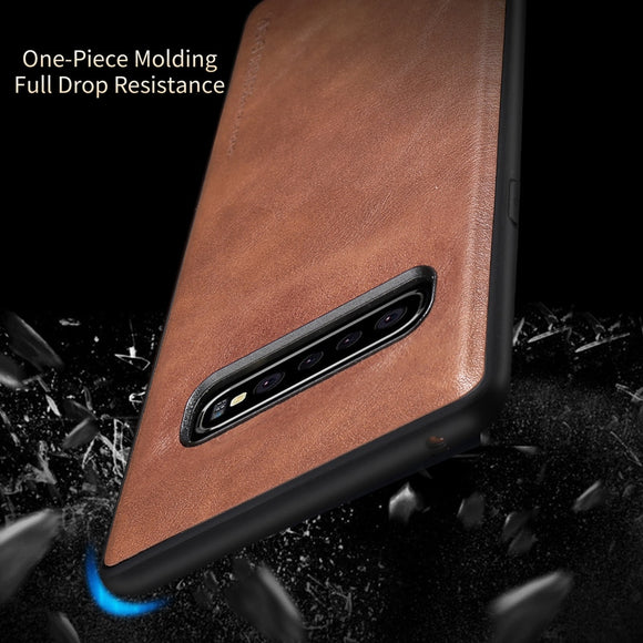 Classical Leather Case For Samsung Galaxy S10e S10 S10 Plus