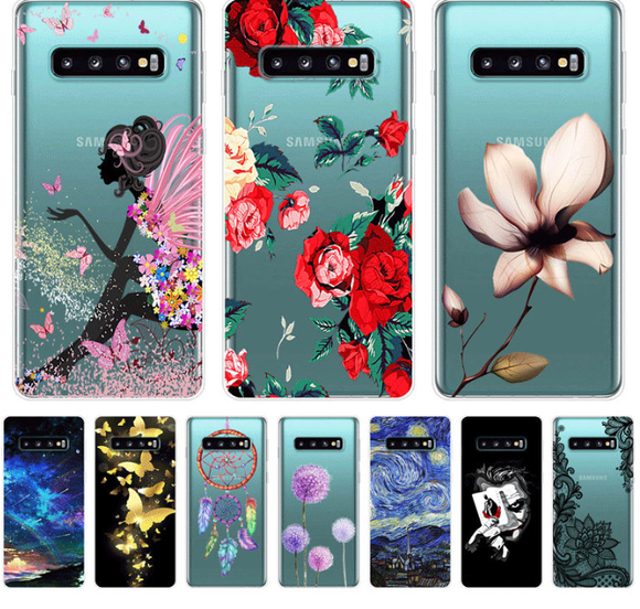 Beautiful Silicone TPU Soft Phone Case For Samsung Galaxy