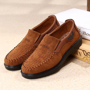Men's Shoes - Men's Comfortable Breathable Non-slip Casual Shoes