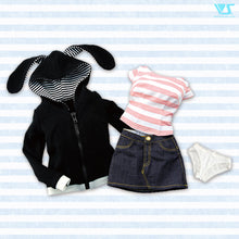 Load image into Gallery viewer, Bunny-Eared Hoodie Set
