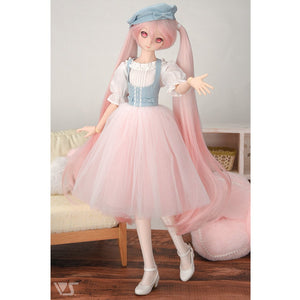 Denim And Tulle Pretty Dress