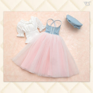 Denim And Tulle Girly Dress