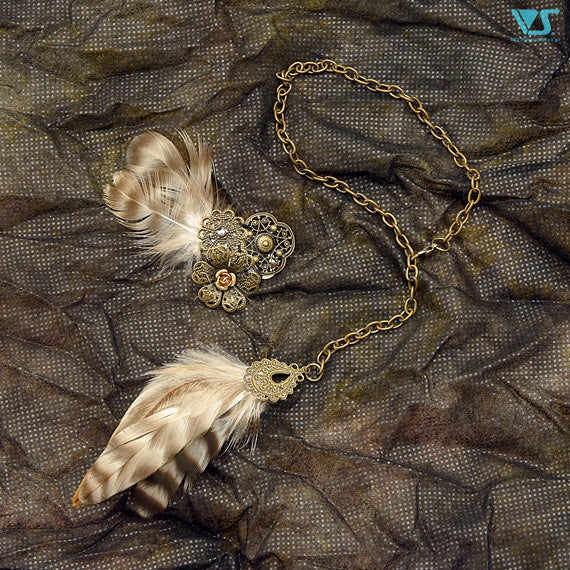 Feather Jewelry set
