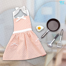 Load image into Gallery viewer, Frying Pan & Polka-Dot Apron Set