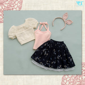 Lace Sweaters Set (White)