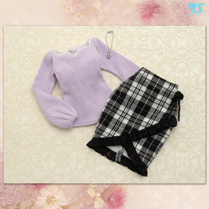 Pastel Color Knit Set (Sugar Purple)