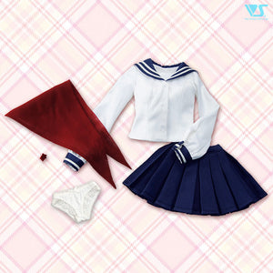 Sailor Uniform Set (Navy Blue / S-SS Bust)