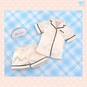 Satin Pajamas Set (Ivory)