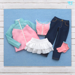 Sporty Casual Girly Set
