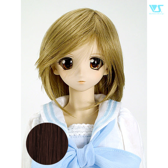 DD Hair Wig Short Shagginess / Rich Brown (W-104D-M33/12)
