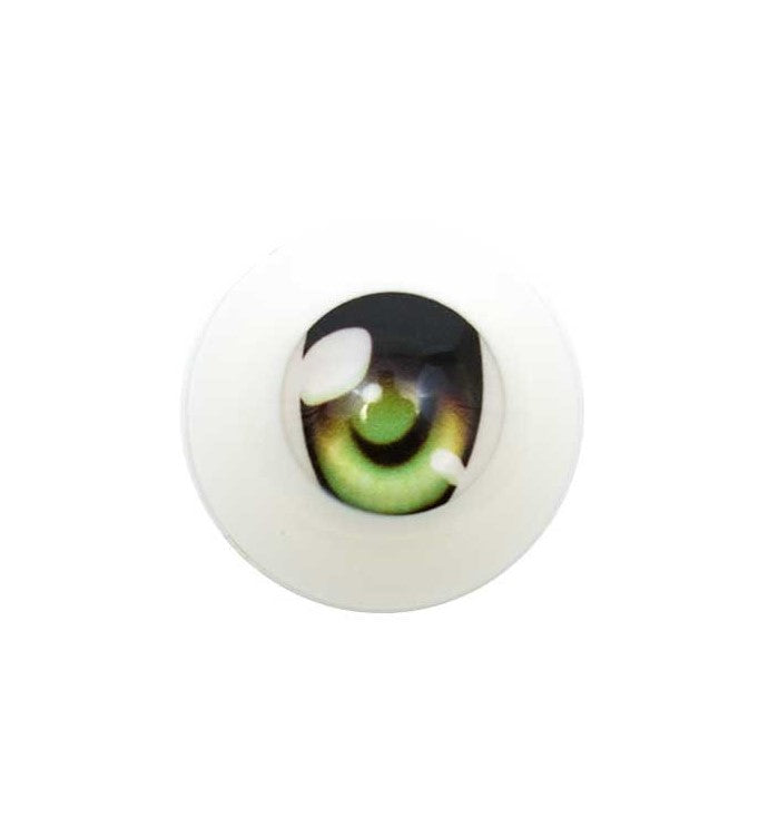 Dollfie animetic eyes F/22mm/Bright Green (Wakaba)
