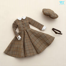 Load image into Gallery viewer, Glen Check Dress Set / Mini