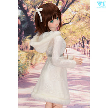 Load image into Gallery viewer, White Fur Knit Dress Set