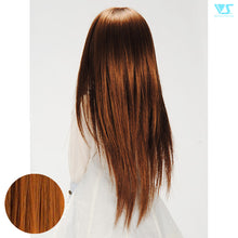 Load image into Gallery viewer, DD Hair Wig Straight Shaggy / Cork Brown W-142D-C