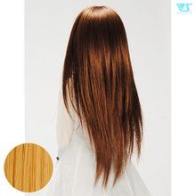 Load image into Gallery viewer, DD Hair Wig Straight Shaggy / Cinnamon Gold (W-142D-CiGo)