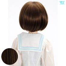 Load image into Gallery viewer, DD Hair Wig Tomboy Bob / Charcoal Brown (W-161D-ChBr)