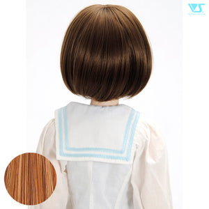 DD Hair Wig Tomboy Bob / Pink Brown (W-161D-PiBr)