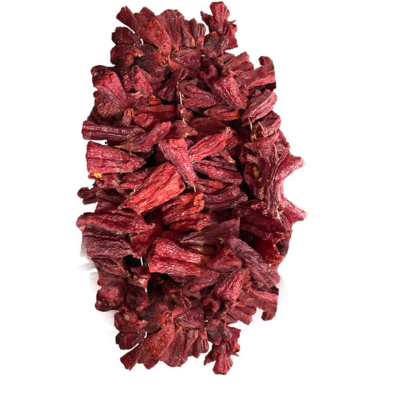 Natural Dried Sweet Capia Peppers (Dolmalik Kuru Antep Tatli Kapya Biberi) 50 PCS