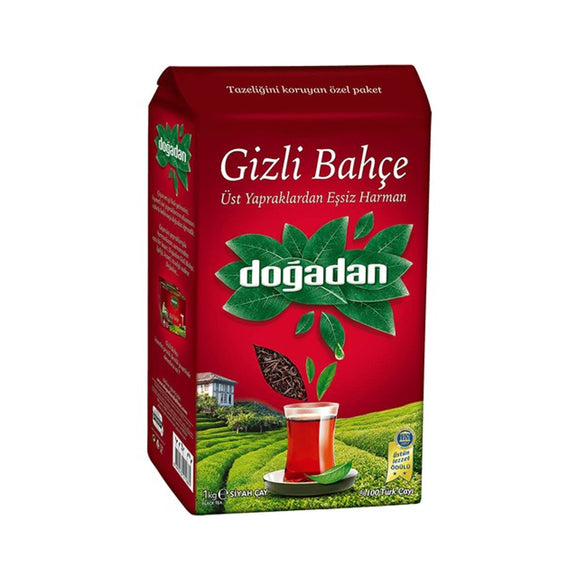DOGADAN GIZLI BAHCE CAY TURKISH HIDDEN FOREST LOOSE TEA TURK CAYI