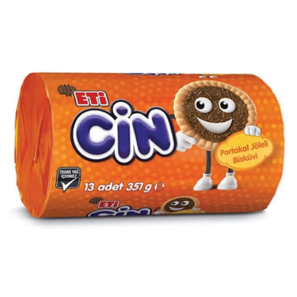 Eti Cin Orange Jelly Biscuit (Portakalli Biskuvi) 351g